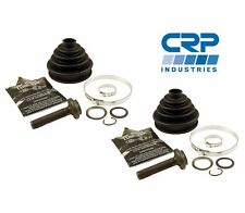 2 Front Outer CV Joint Boot Kit CRP 4A0498203A For Audi A4 Quattro VW Passat