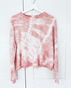 INCU Collection, Pink Tie-Dye Sweater Jumper S, Elder Statesman style EXCEL COND