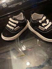 """Vans """"VNS"""" Shoes Black 6-12 Months (15) Infant Old School Crib!"""