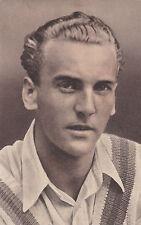 Vintage Cricket Post Card Joseph Hardstaff Notts