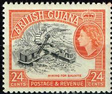 British Guiana Colonial Bouxite Mine 1954 stamp MNH