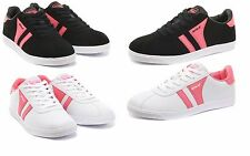 Womens Ladies Casual Shoes Plimsolls Walking Jogging Fitness Skate Trainers SZ