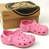 Crocs Kids Pink C 6/7 Ralen Clog Slip On Comfort Shoes Sandals