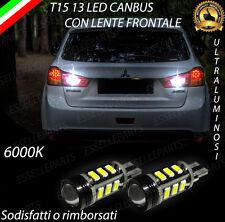 LAMPADE RETROMARCIA 13 LED T15 W16W CANBUS MITSUBISHI ASX NO ERROR