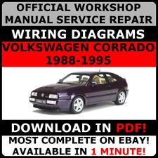 # OFFICIAL WORKSHOP Service Repair MANUAL for VOLKSWAGEN CORRADO 1988-1995 #