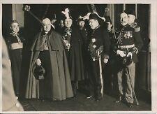 PARIS c.1930 -Monseigneur Maglione Légat du Pape Militaires à l'Élysée - PRM 238