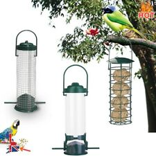 3 In 1 Wild Bird Hanging Seed Feeder Peanut Feed Fat Ball Feeders Garden Birds