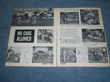 1964 All-Western Motorcycle Championships Race Highlights Article Lions