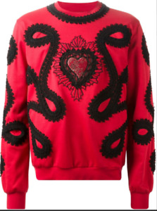 Dolce & Gabbana sacred heart Jumper SweaterShirt IT50-52 L/XL New Top Jacket New
