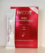 BECOS BODY TONIC CONTROL SIERO NEW FORMULA 10 bustine da 10ml.