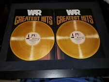 War Greatest Hits Rare Original Promo Poster Ad Framed!