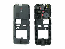 Genuine Nokia 220 Black Chassis / Middle Cover - 02505S4