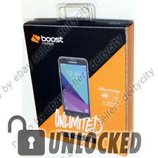 """UNLOCKED Boost Mobile Samsung Galaxy J3 2017 Emerge 5"""" 4G LTE AT&T T-Mobile NEW"""