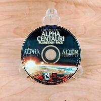 Sid Meier's Alpha Centauri Planetary Pack PC CD-ROM Software Video Game