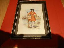 1687 Prince George of Denmark Maritime Regiment  by Charles C Stadden Framed