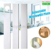 190cm Abluftschlauch Adapter Fensterabdichtung für Mobil Klimagerät  !