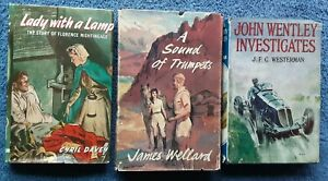 3x Children's Books - Lady With a Lamp, John Wentley Investigates, A Sound of Tr
