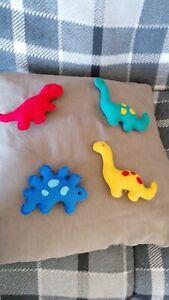 Handmade Dinosaur Felt Baby Mobile