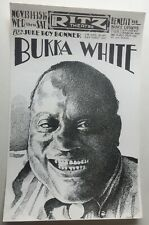 1974 Benefit Concert For Mance Lipscomb By Bukka White At The Ritz Theater