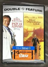 Patch Adams & What Dreams May Come [New Dvd] Robin Williams Free Shipping