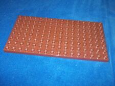 Lego Duplo Ritterburg 4777 4776 4785 BAUPLATTE 16 X 8er NOPPEN PLATTE Braun
