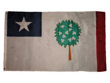 Mississippi Republic Magnolia Flag 3x5 ft Bonnie Blue Civil War State Rebel 1861