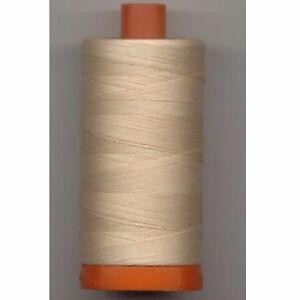 Aurifil Thread #2315 Pale Flesh Cotton Mako 50 wt 1422 yard spool