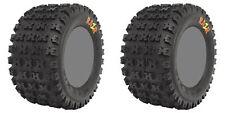 Pair 2 Maxxis Razr 22x10-11 ATV Tire Set 22x10x11 6 Ply 22-10-11