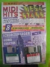 MIDI HITS Nr.16 Schürzenjäger Mega-Stars 8 Songs GM MIDIFILES Neu,orig.verp.