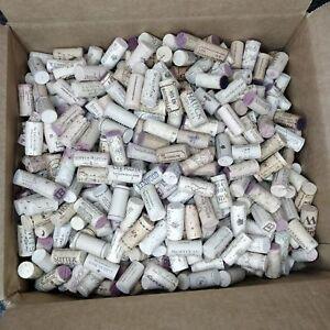 428 Used Wine Corks Mix Lot