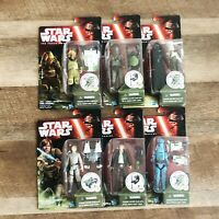 STAR WARS EPISODE- THE FORCE AWAKENS- Lot Of 6