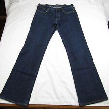 Ralph Lauren Womens Jeans 29x31 Blue Label Tribeca 114 Blue Dark Wash Denim
