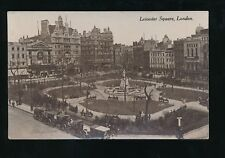 LONDON Leicester Square Used 1914? RP PPC