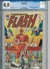 Flash 246 - CGC 8.0 - Neal Adams / Denny O'Neil - Green Lantern story - Bronze