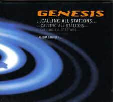 Genesis-Calling All Stations Promo cd album