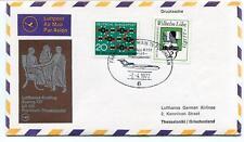 FFC 1972 Lufthansa Special Flight Boeing 727 LH 620 Frankfurt Thessaloniki