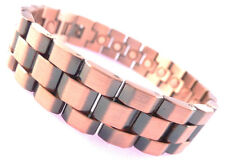 Mens Copper Magnetic Therapy Bracelet With Presentation Pouch GC2