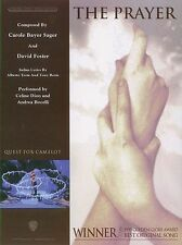 The Prayer Andrea Bocelli Celine Dion Piano Vocal & Guitar PVG SHEET Music Book