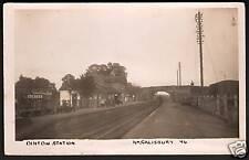 Dinton Station nr Fovant, Wylye & Salisbury.
