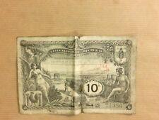 RARE BILLET / UNION ECONOMIQUE DE MONTPELLIER / 10 FRANCS +++++++++++++