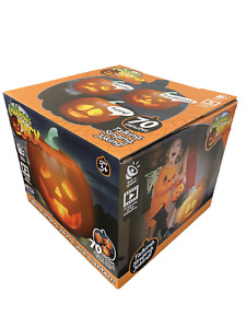Mindscope Jabberin Jack Talking Pumpkin with Built in Projector & Speaker