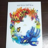 Art book of New Hoenn Art Book: Pokemon Center Limited Omega Ruby Alpha Japan