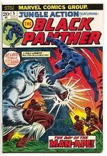 Jungle Action 5 Marvel 1973 VF 1st Black Panther Solo Man-Ape John Romita