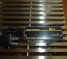 Burst Electronics BG-4 Black / Color Bars Video Generator BG4 BG4CB NTSC & PAL