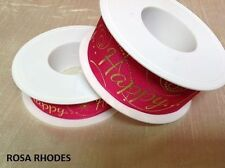 Single-Sided Wire Edged Craft Ribbon
