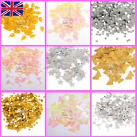 Silver Gold Iridescent Confetti Wedding Scatter Party Celebration Decoration