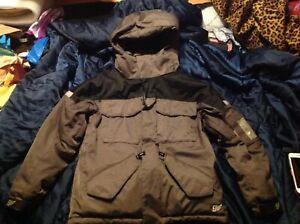 NICE GAP KIDS Youth Boys Girls Brown Snowboard Jacket M Medium