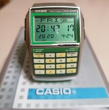 OROLOGIO UNISEX CASIO DATA BANK DATABANK DBC 32 RETRO VINTAGE VERDE GREEN