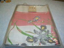 "Vintage Table Cloth & 6 Napkins 52""  Larkspur Original Still Has Label"