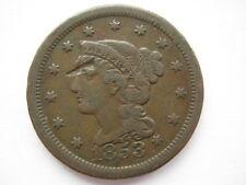 États-unis 1853 large cent nvf